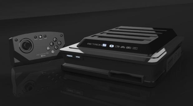 RetroN 5 to play NES, SNES, Game Boy Advance, Famicom and Sega Genesis games