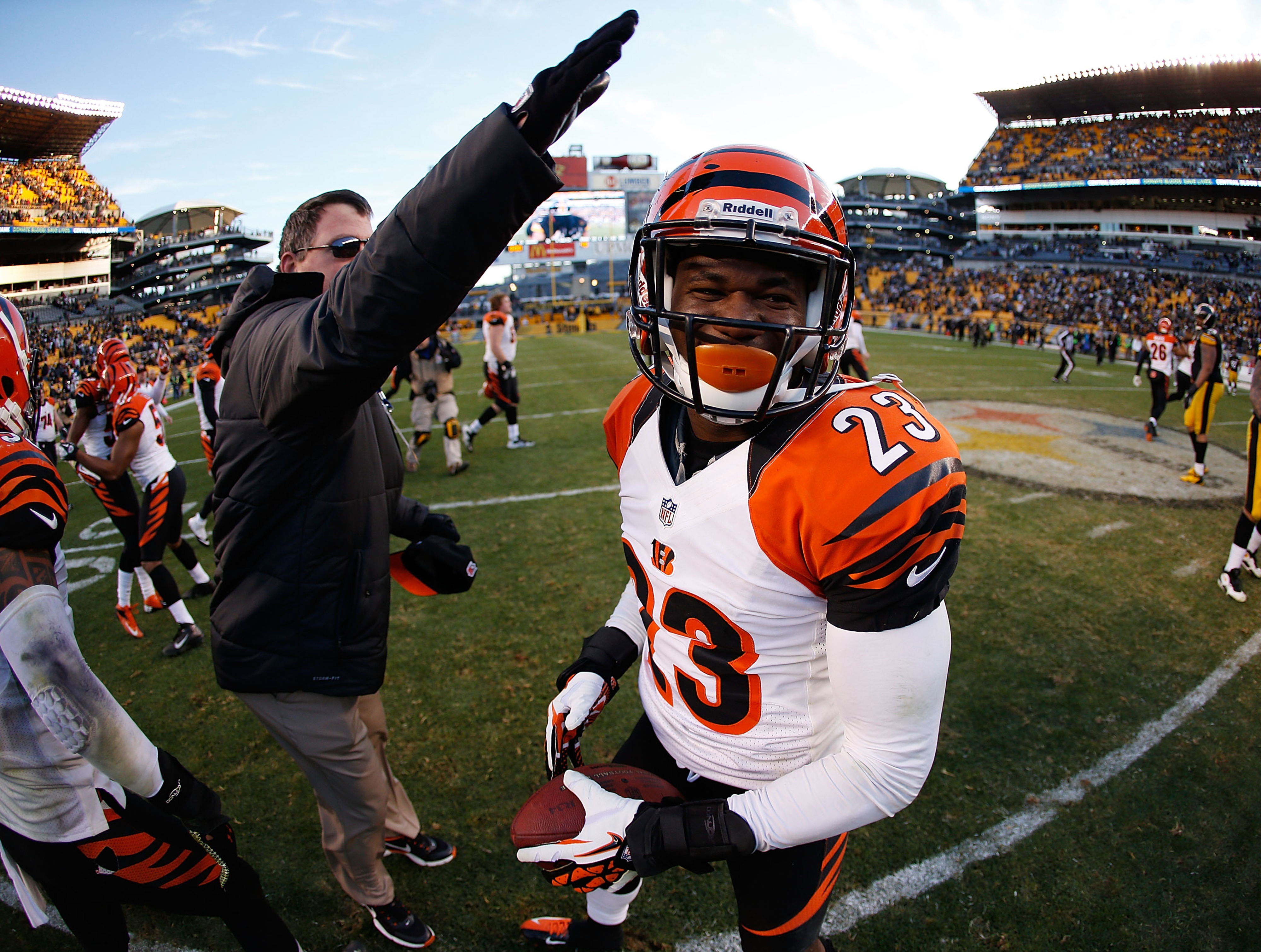 Terence Newman is looking for his agent