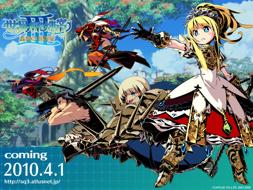 Etrian Odyssey remake coming to 3DS