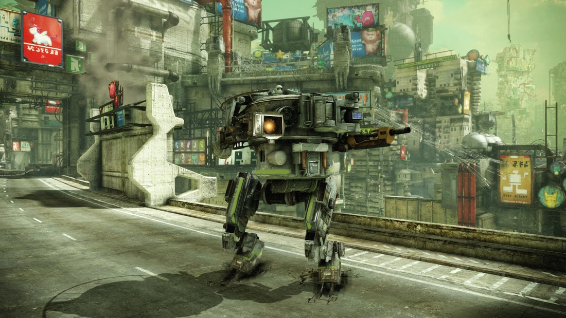 Hawken's Technician mech opens the battlefield to less twitchy players