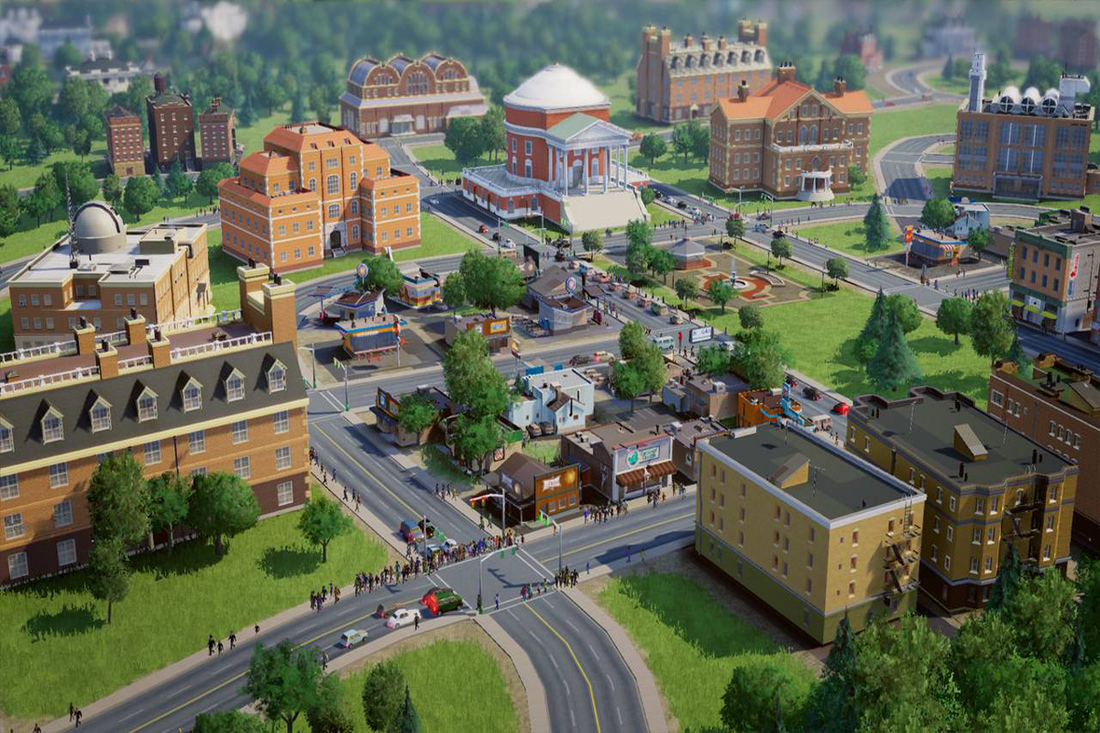 DRM wasn't a factor in SimCity's online-only design, says EA