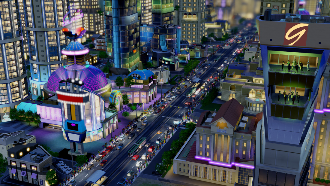 SimCity pedestrians 'teleport' to keep the game fun