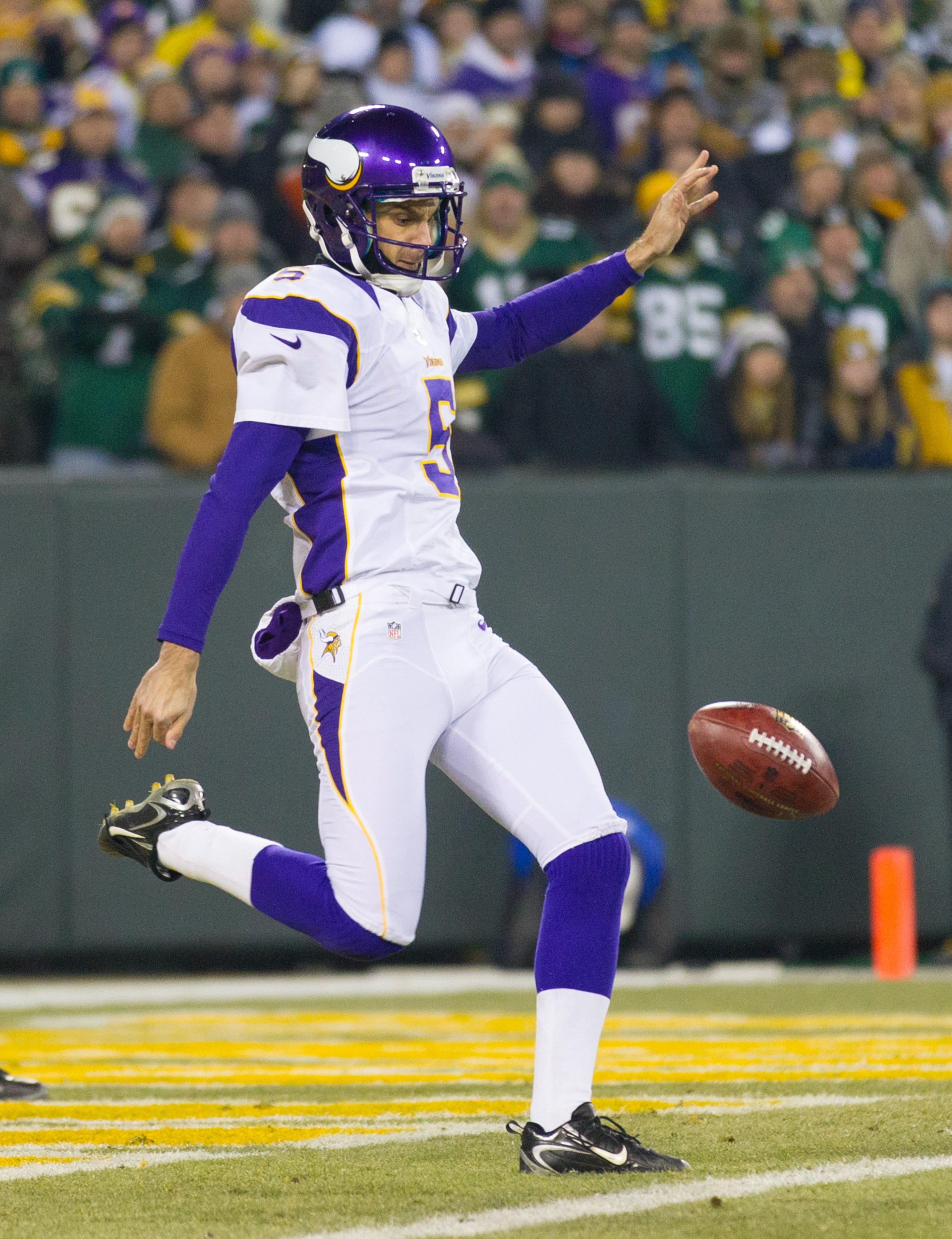 Minnesota Vikings punter Chris Kluwe