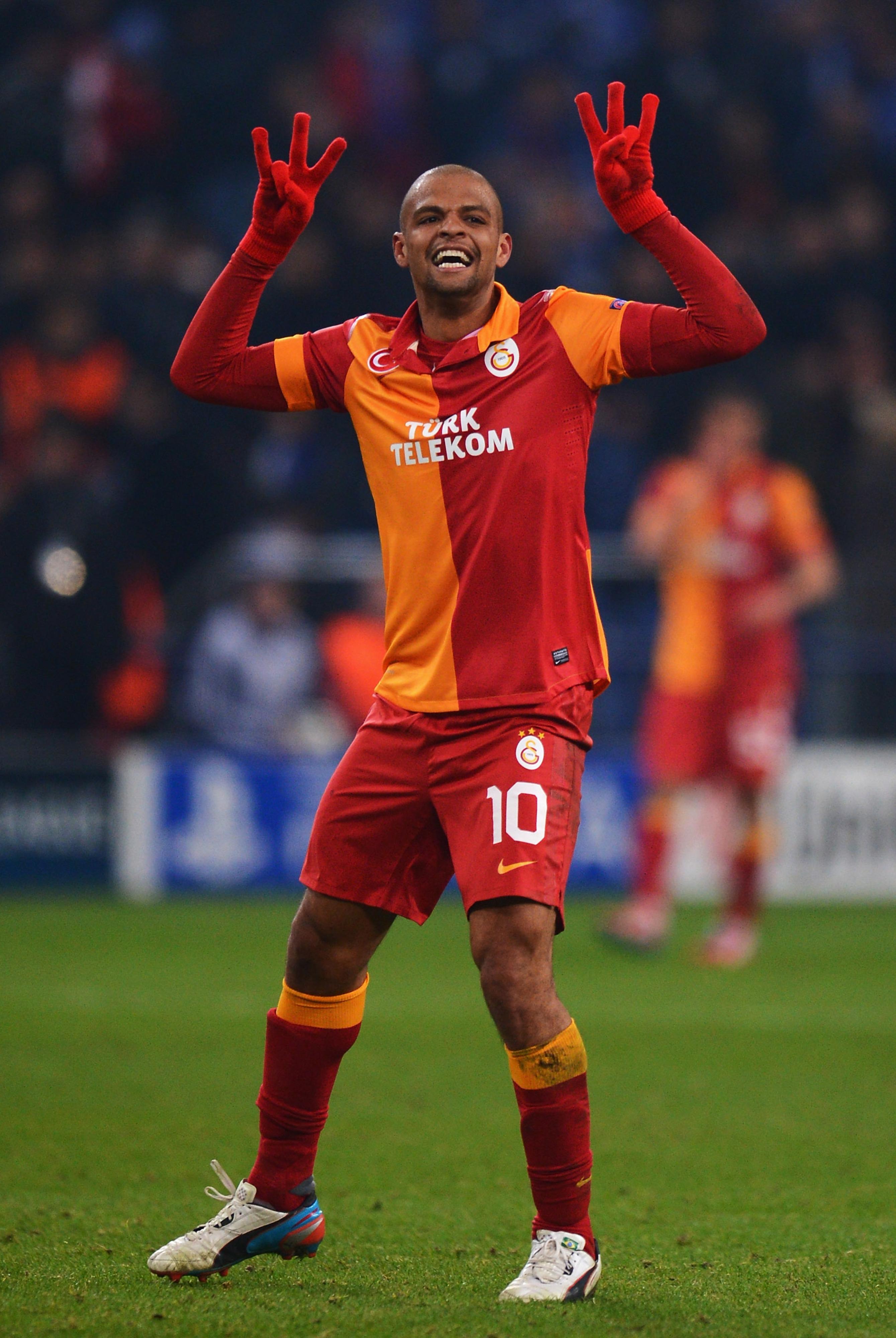 Felipe Melo: Galatasaray's No. 10.