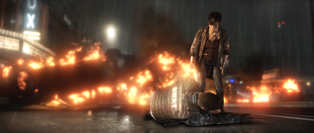 Beyond: Two Souls influenced in part by the homeless, creative director says