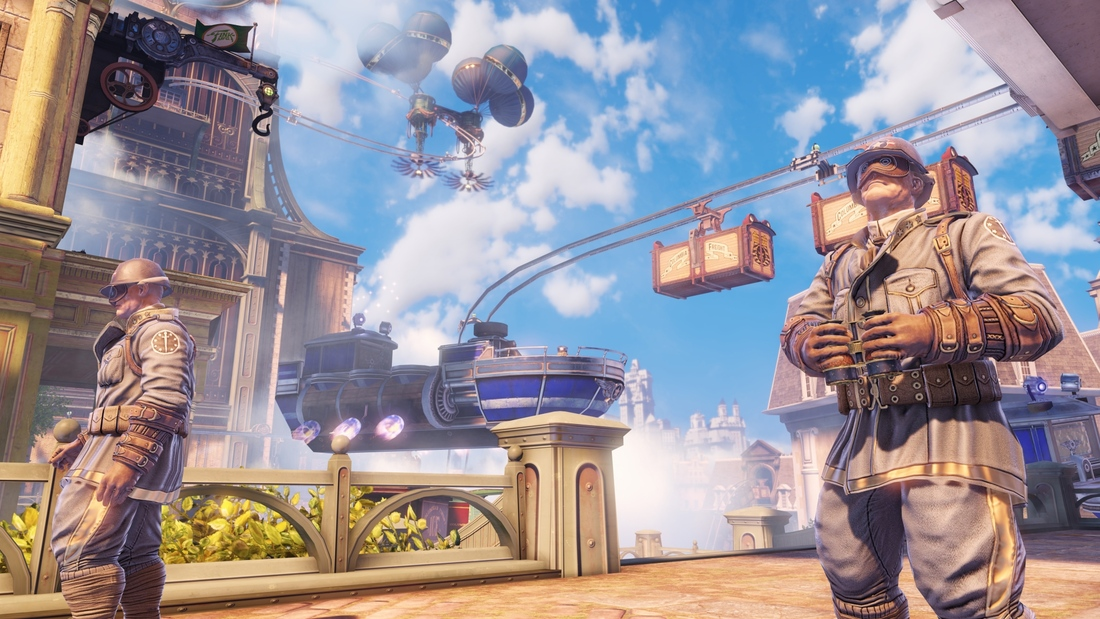 There isn't enough helium in the world to keep BioShock Infinite's city of Columbia afloat