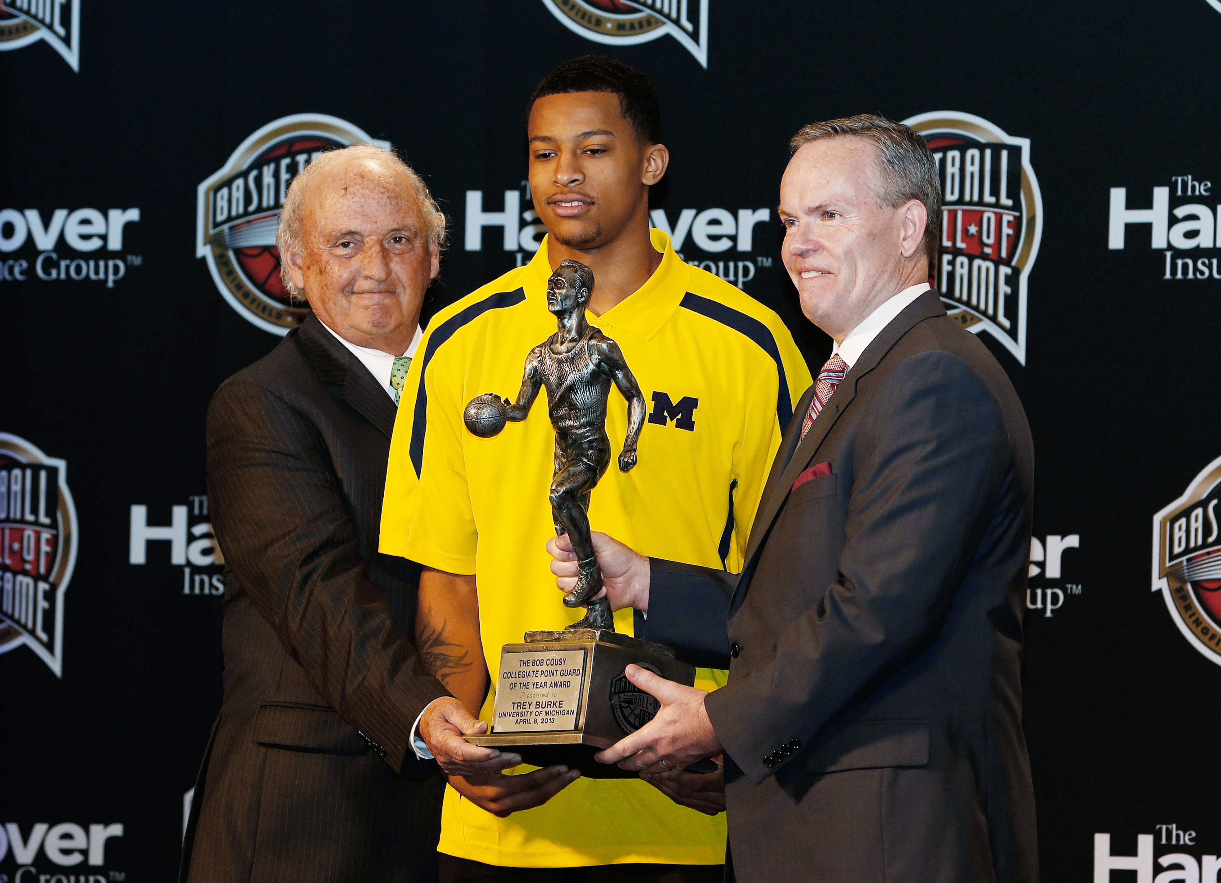 Michigan Guard Trey Burke is bringing home all the individual hardware.  But he'd rather win tonight's game vs. Louisville.  Our Louisville pic is fronting the StoryStream!