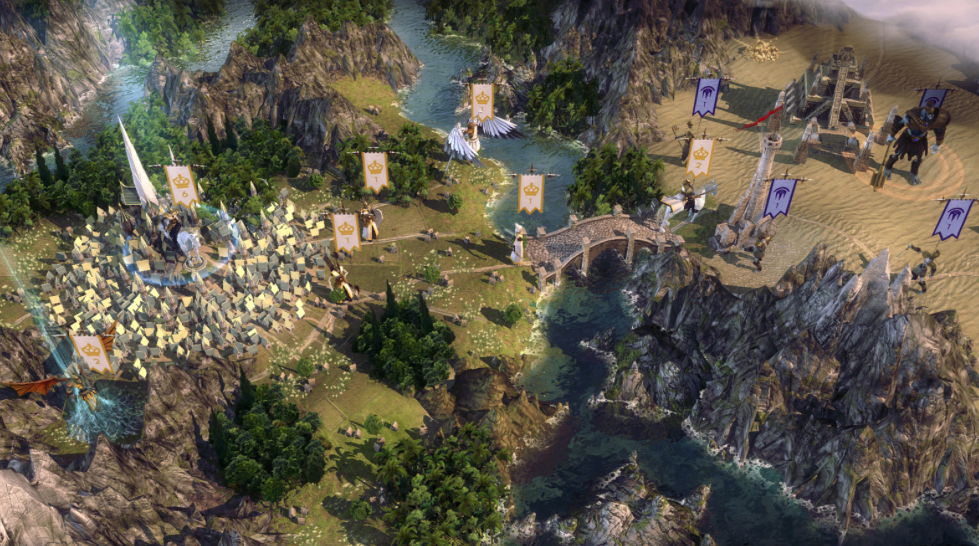 Age of Wonders 3 appeals to different play styles, including hardcore and old school
