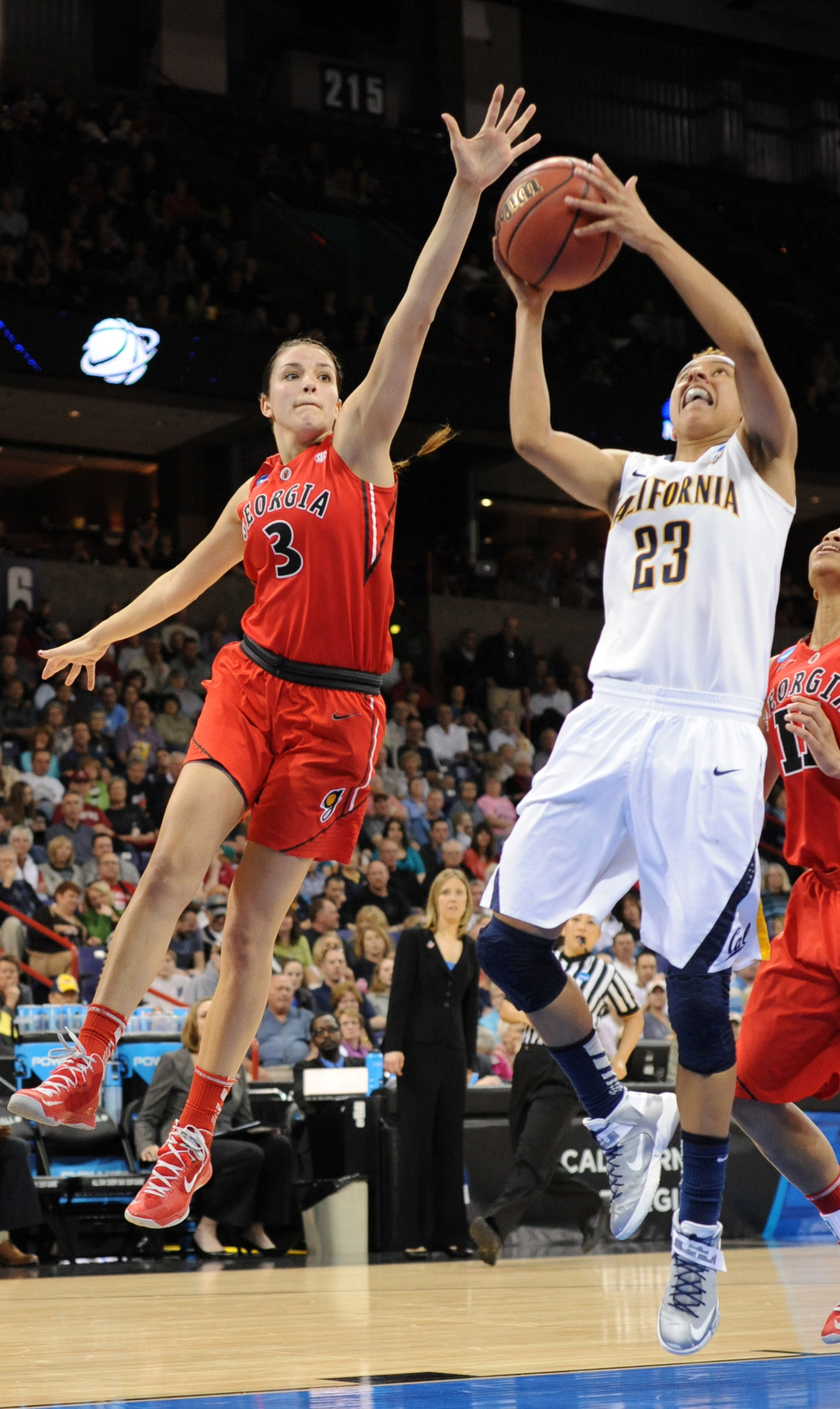 Georgia's Anne Marie Armstrong was one of three Bulldogs selected in the 2013 WNBA Draft while Cal's Layshia Clarendon was one of three Pac-12 players.
