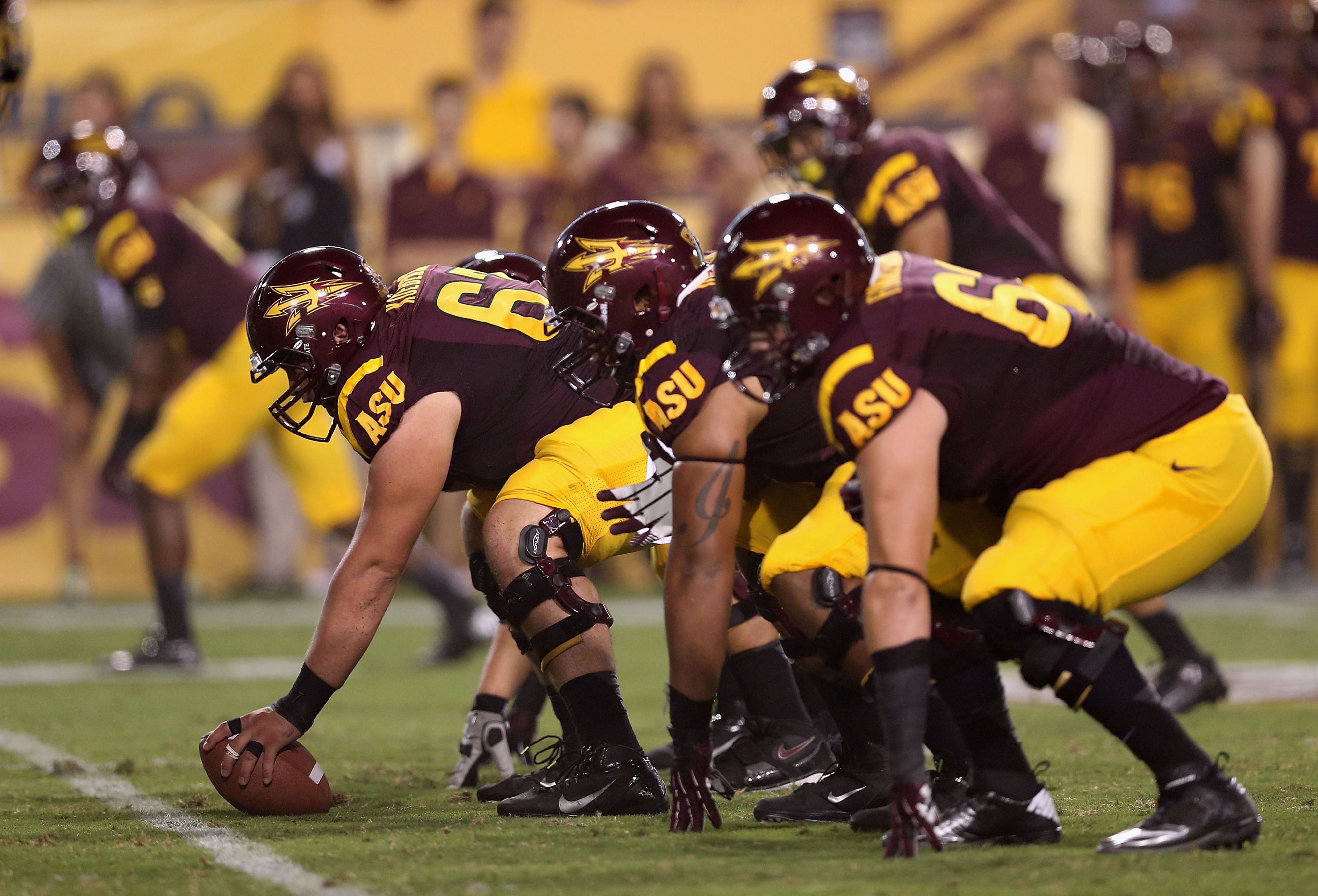 The ASU offensive line will receive a major boost when Westerman becomes eligible