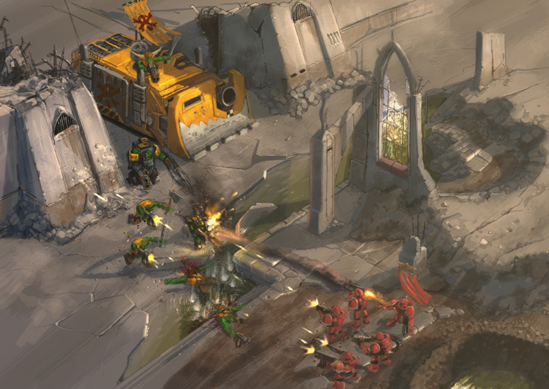 Relic teaming up with Games Workshop for a new Dawn of War is a 'strong possibility'