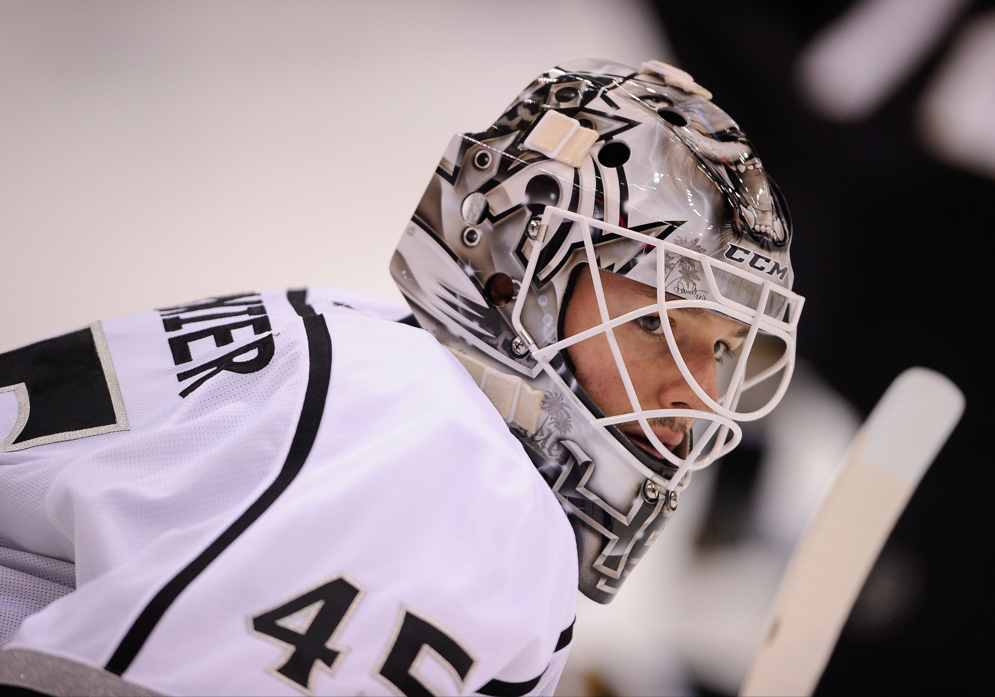 Jonathan Bernier is the Kings' nominee for the Masterton Trophy.