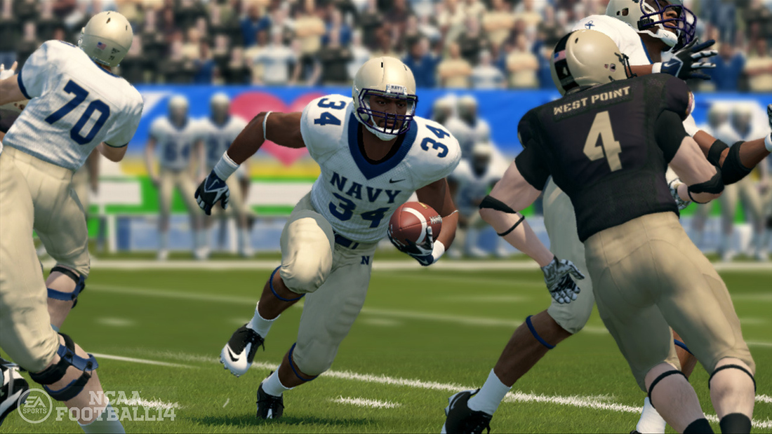 NCAA Football 14 will include offline Kinect commands