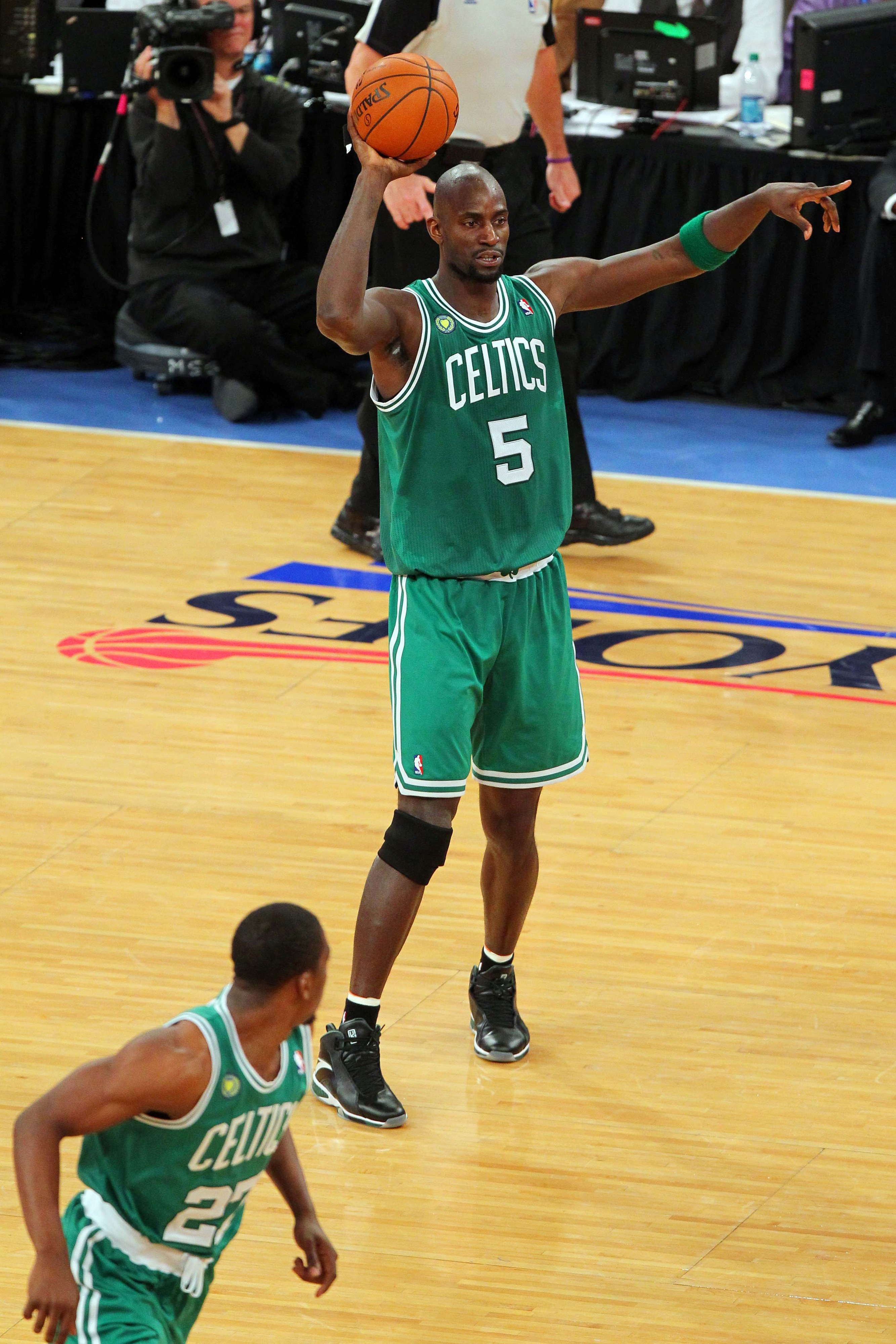 KG's not giving up without a fight.