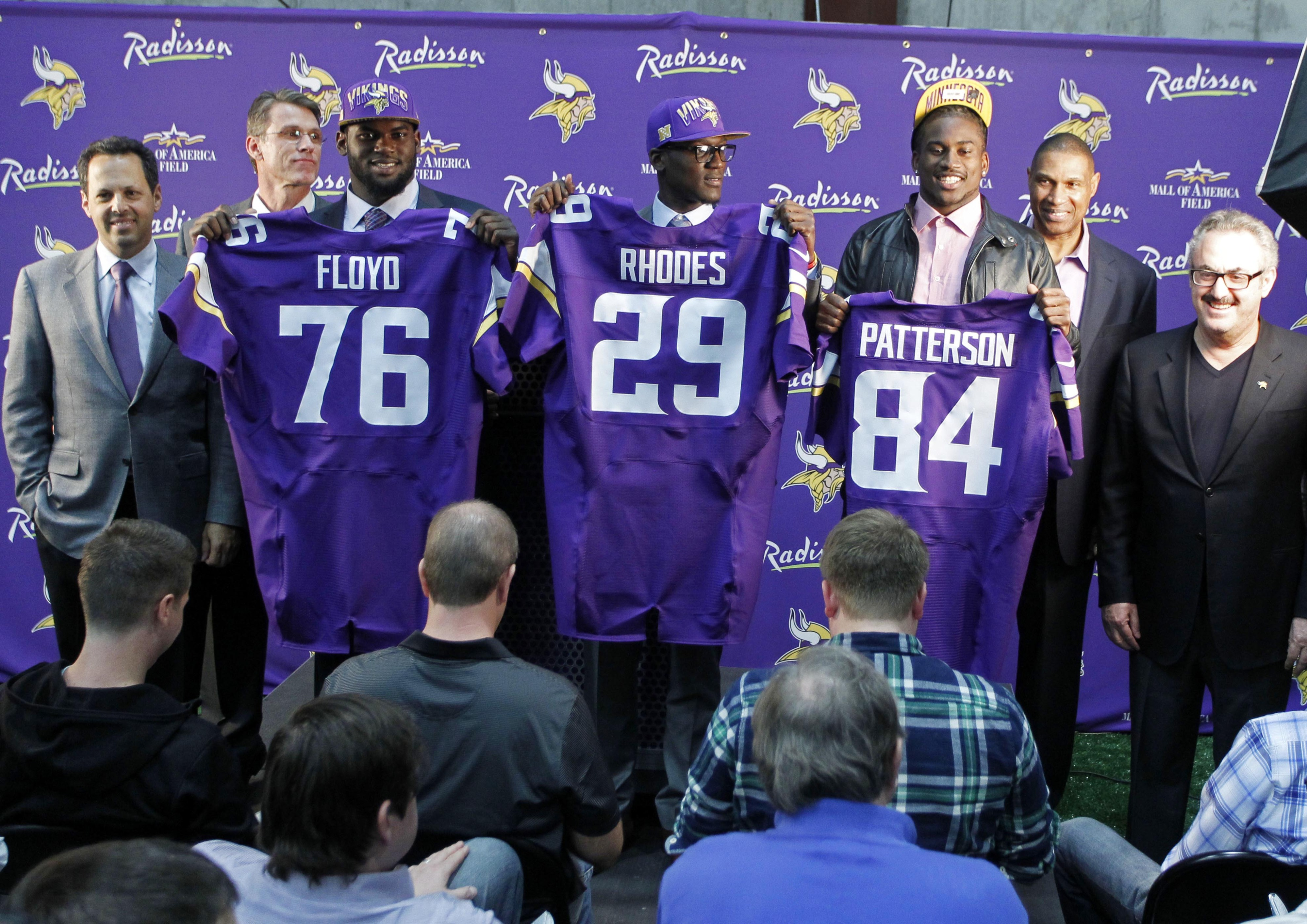 We don't have any pictures of Travis Bond available. So, here are some other guys the Vikings drafted.