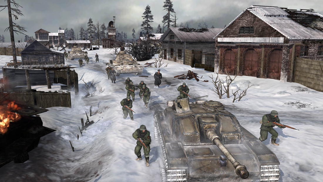 Company of Heroes 2 will include new Theater of War mode