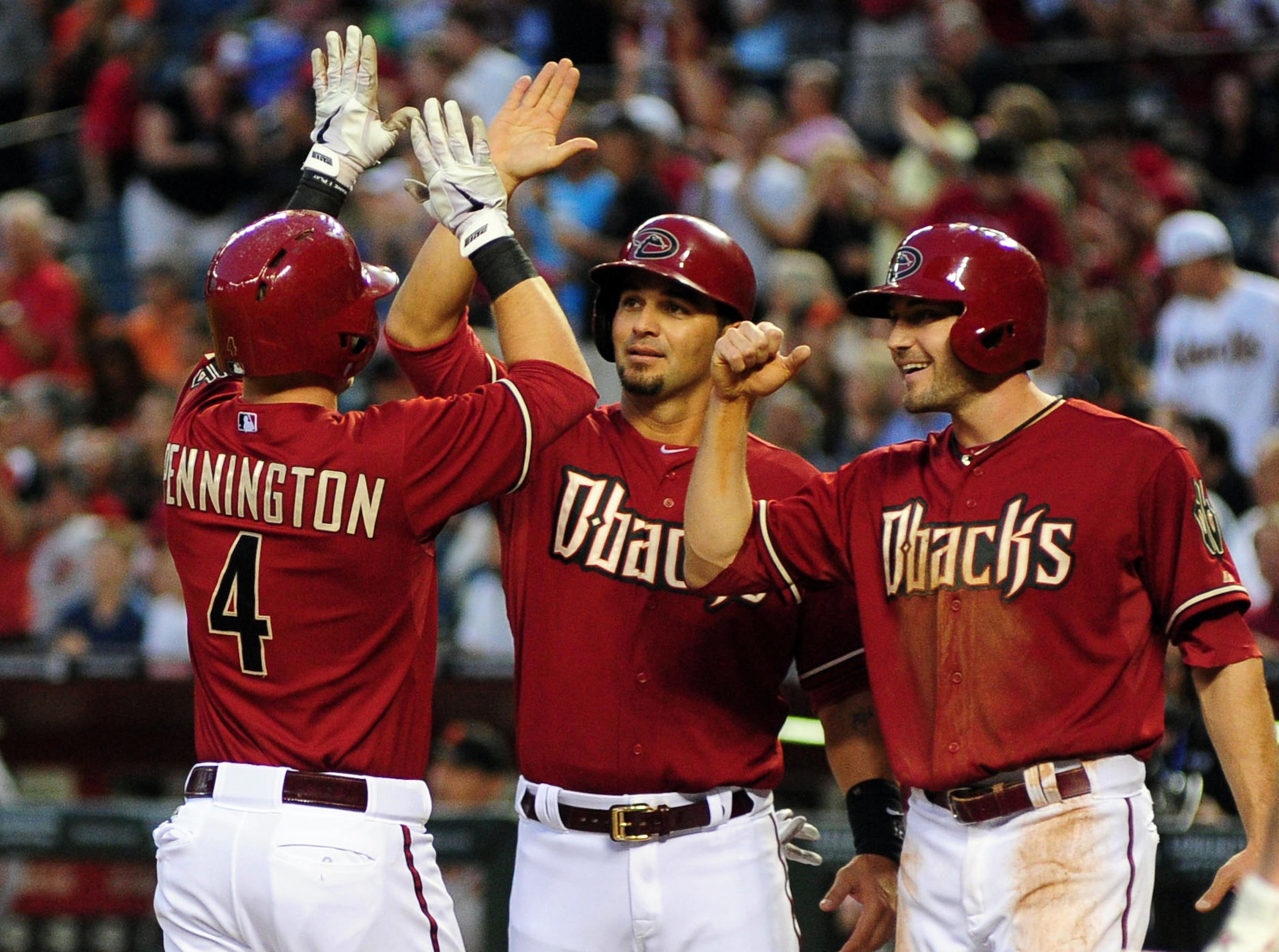 Pennington's home run was a bright spot in a dismal series.