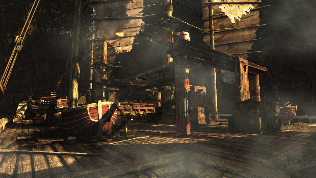 Tomb Raider's Shipwrecked DLC released today with two new maps