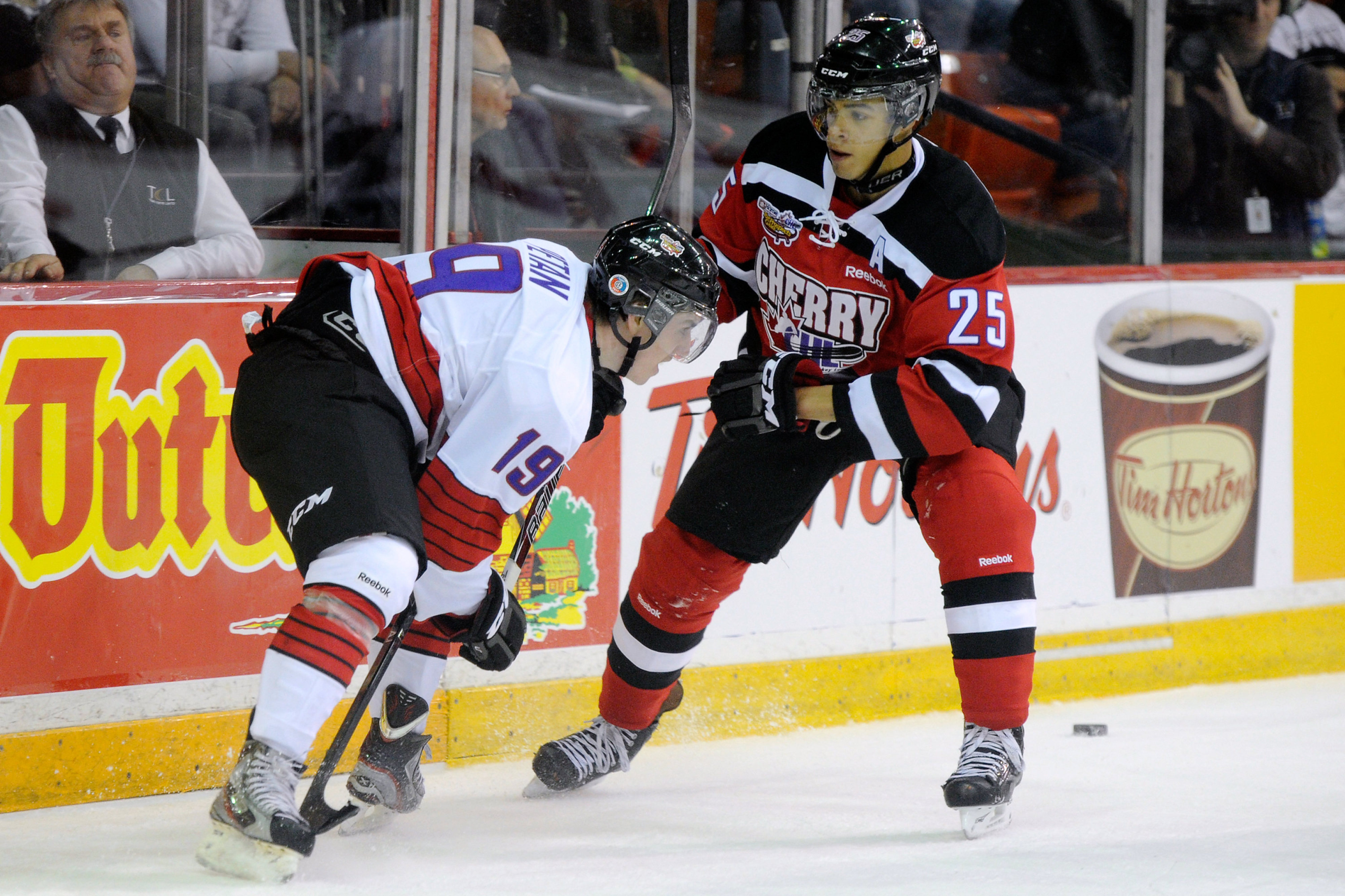 Darnell Nurse taking part in the CHL Top Prospect Game