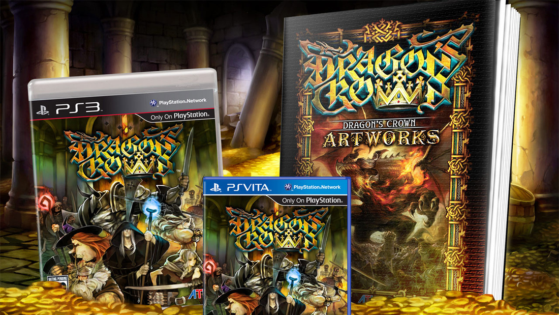 Dragon's Crown pre-orders include 64-page art book 'Dragon's Crown Artworks'