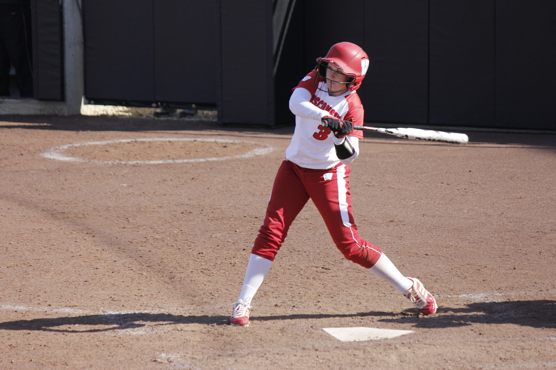 Outfielder Mary Massei figures to play a critical role in Wisconsin's Big Ten Tournament opener.