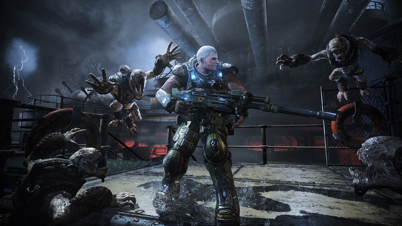 Gears of War: Judgment's second Maxim-sponsored DLC map, Dreadnought, hits May 15