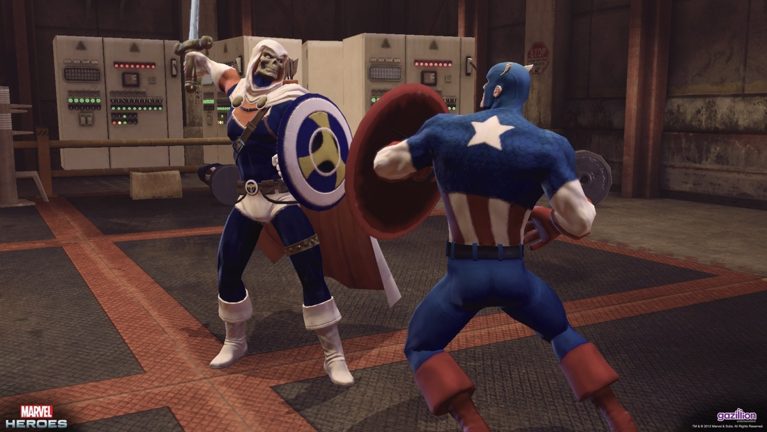 Marvel Heroes will be available through Steam, Human Torch coming post-launch