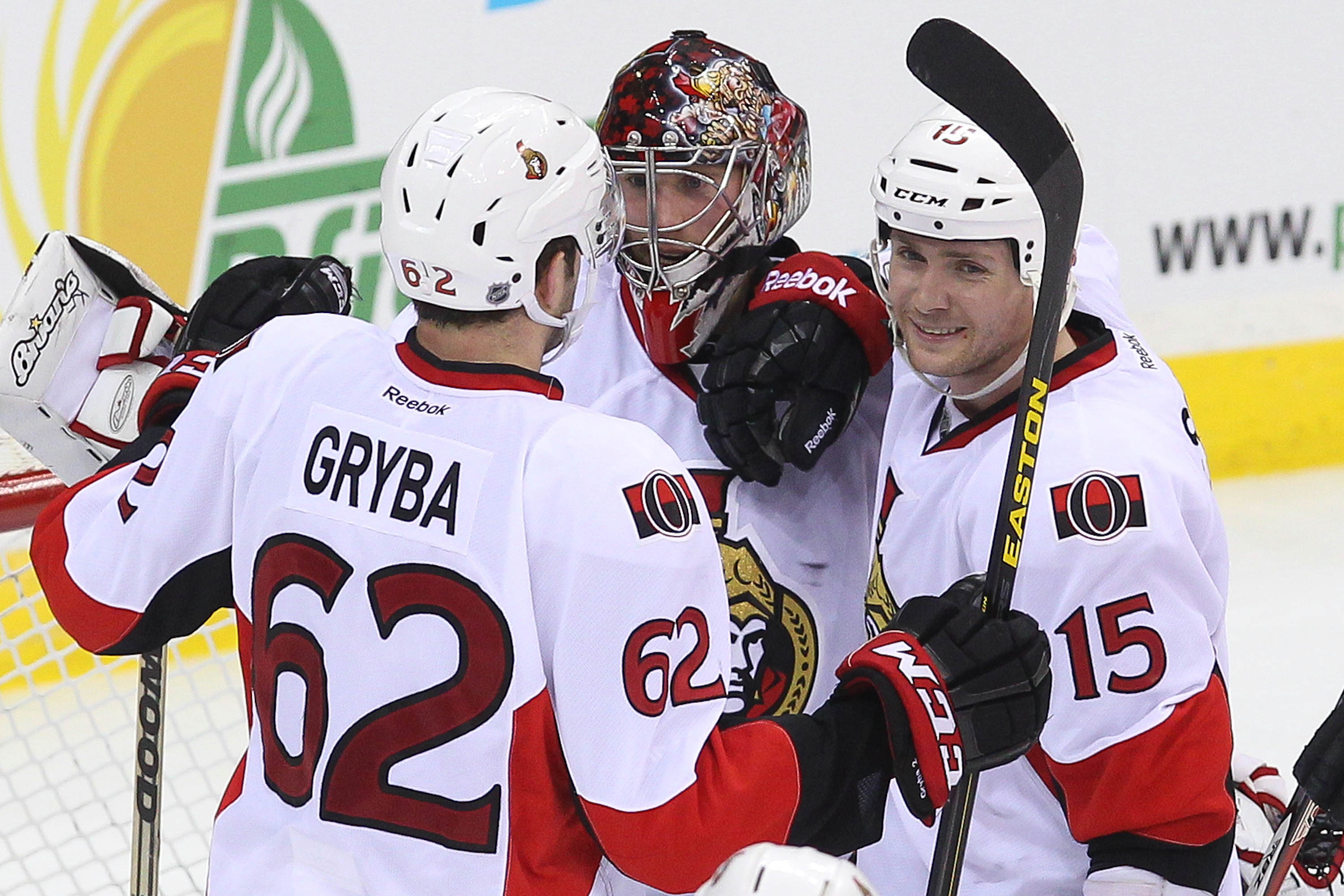 Keeping pucks out of the net will be crucial for the Senators in this series.