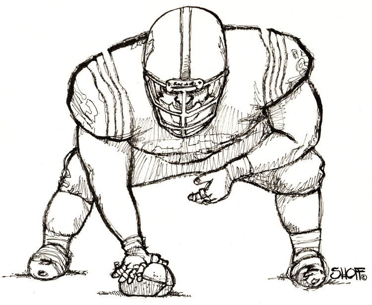 Artist rendering of what Saints rookie minicamp 2013 might have looked like.