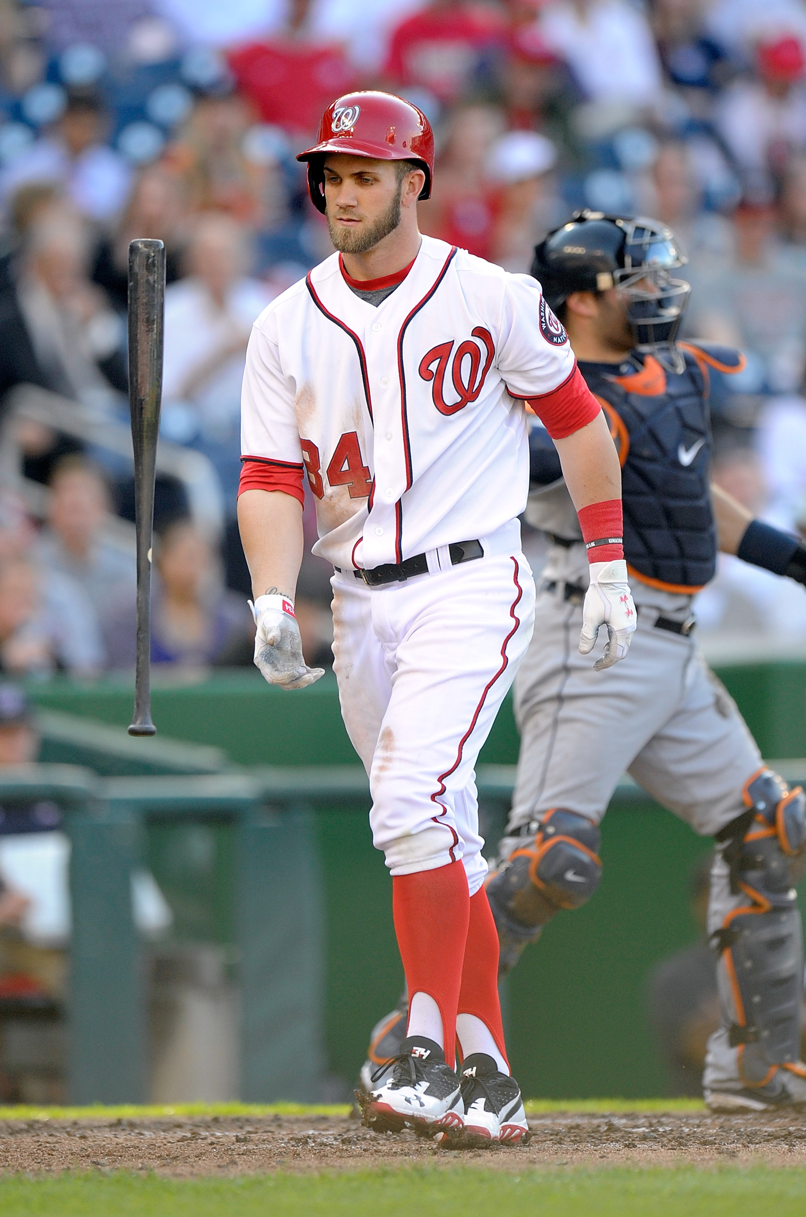Bearded Bryce and the Nats hit town on Monday.