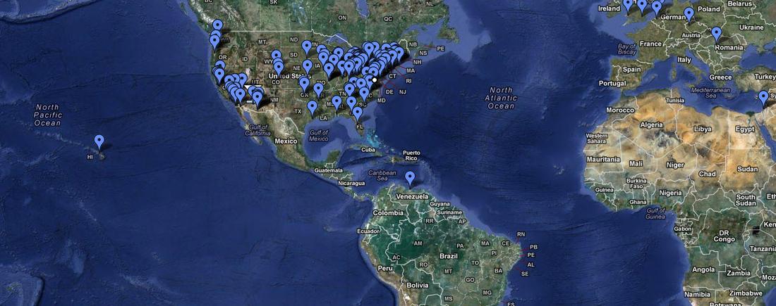 LGT reader map, circle 2009.