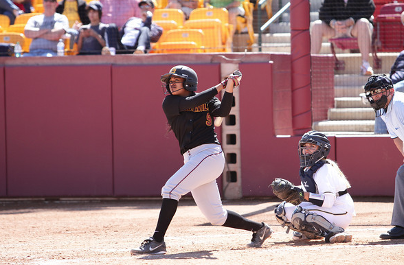 Amber Freeman hopes to lead Arizona State to its second title in three years.