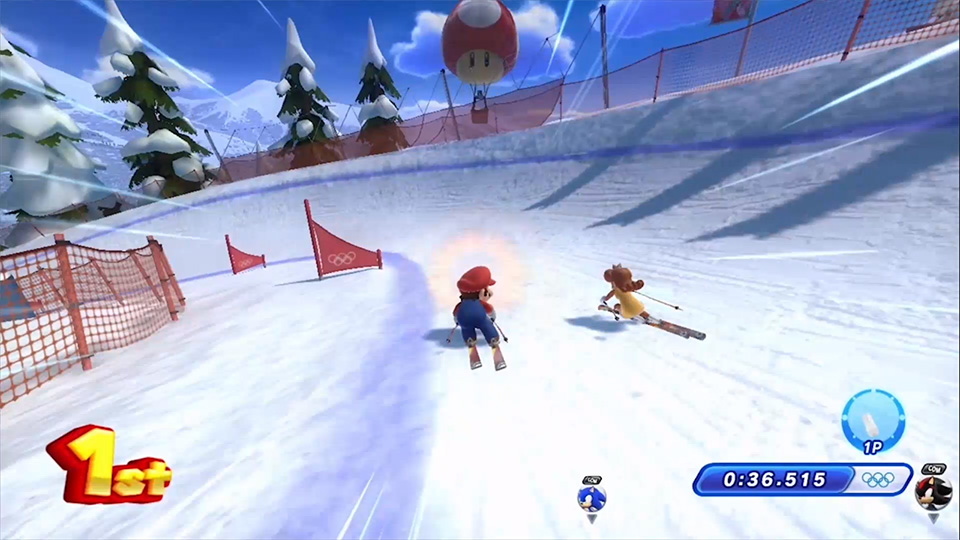 Mario & Sonic at the Sochi 2014 Olympic Winter Games coming to Wii U