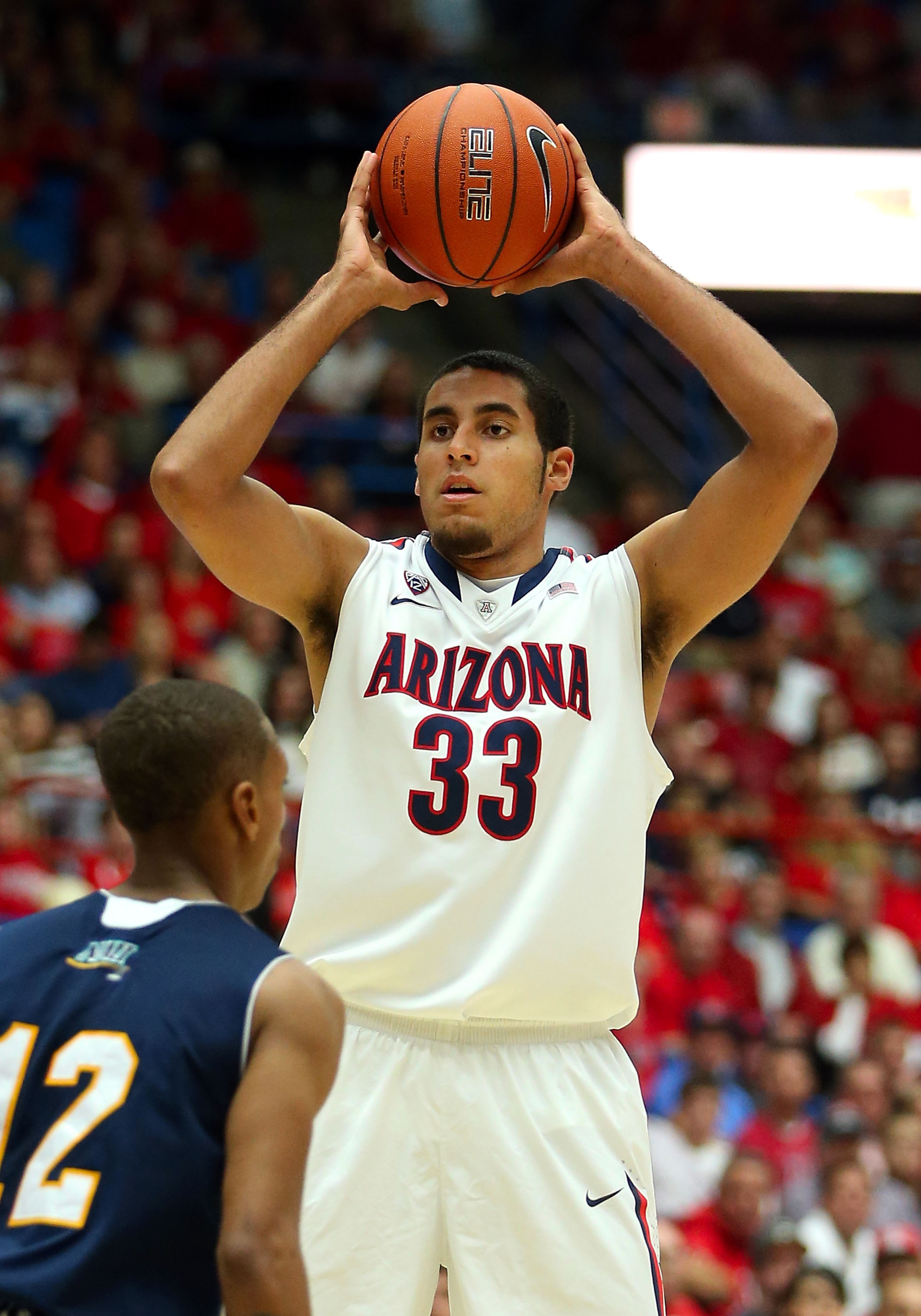 Former Arizona forward Grant Jerrett is projected in the second round range, but ESPN's Chad Ford thinks he can work his way into being a first-round pick.