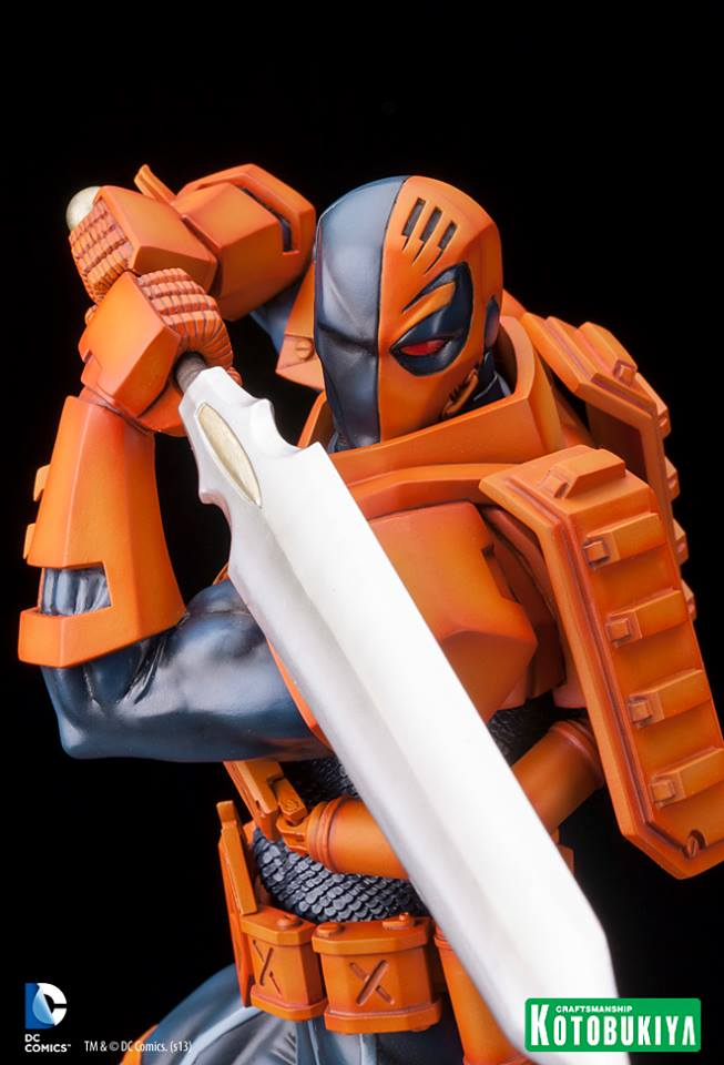 Kotobukiya to release Deathstroke ARTFX statue