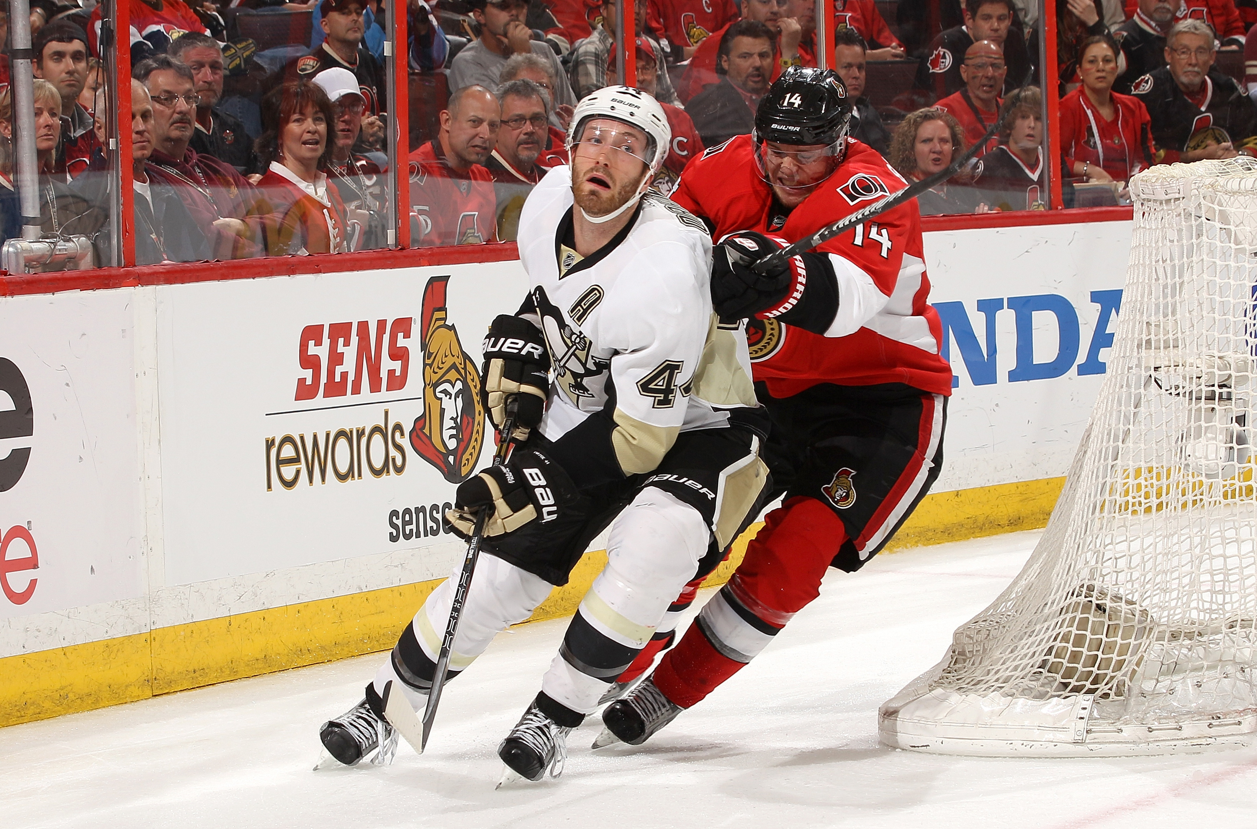 Like Dr. Phil, Colin Greening makes Brooks Orpik reevaluate his life choices.