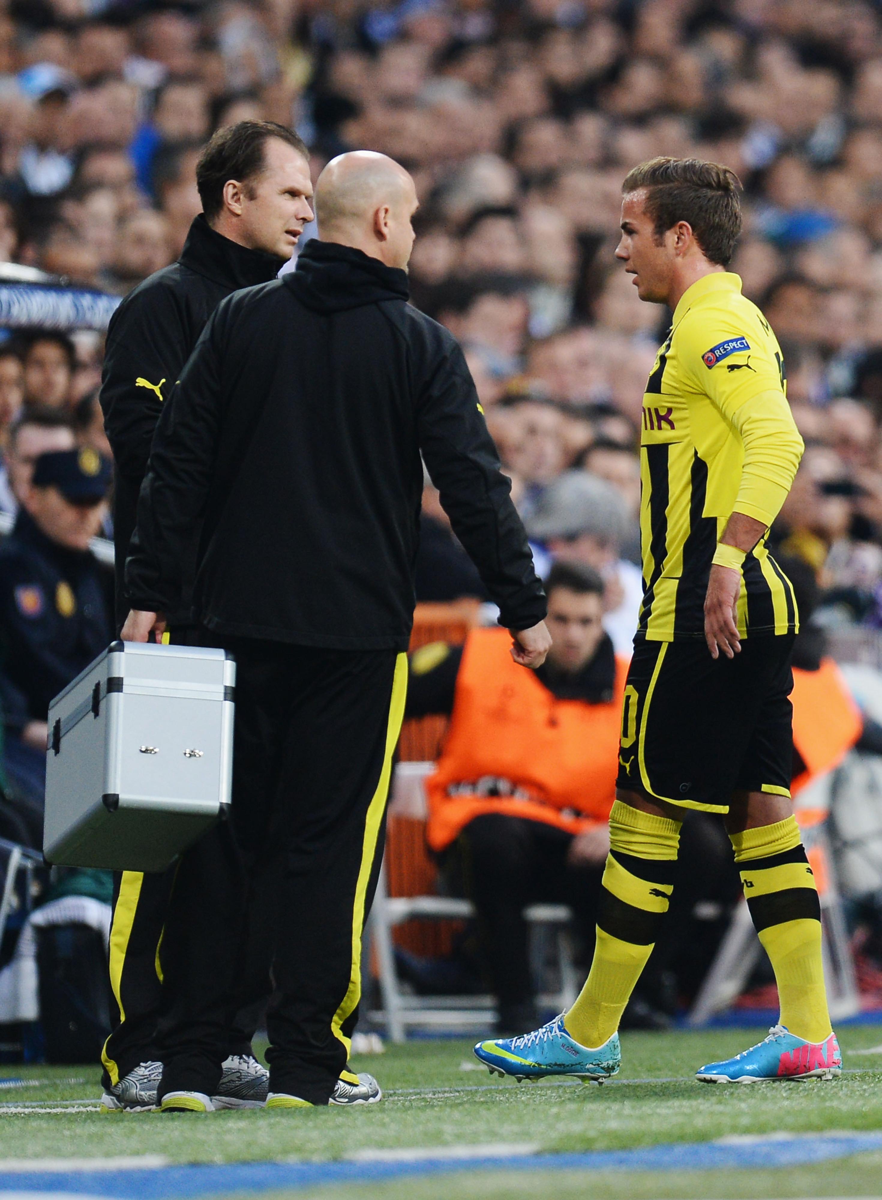 Mario Götze injury: Midfielder out for Saturday's final