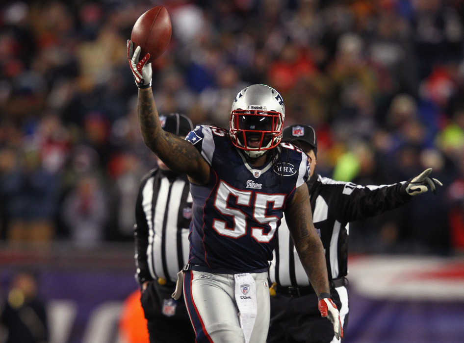 Patriots, Brandon Spikes could part ways after 2013