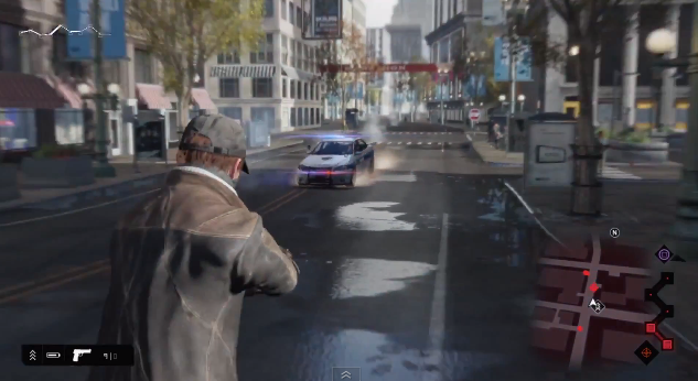Watch Dogs gives players the chance to become in-game pedestrians