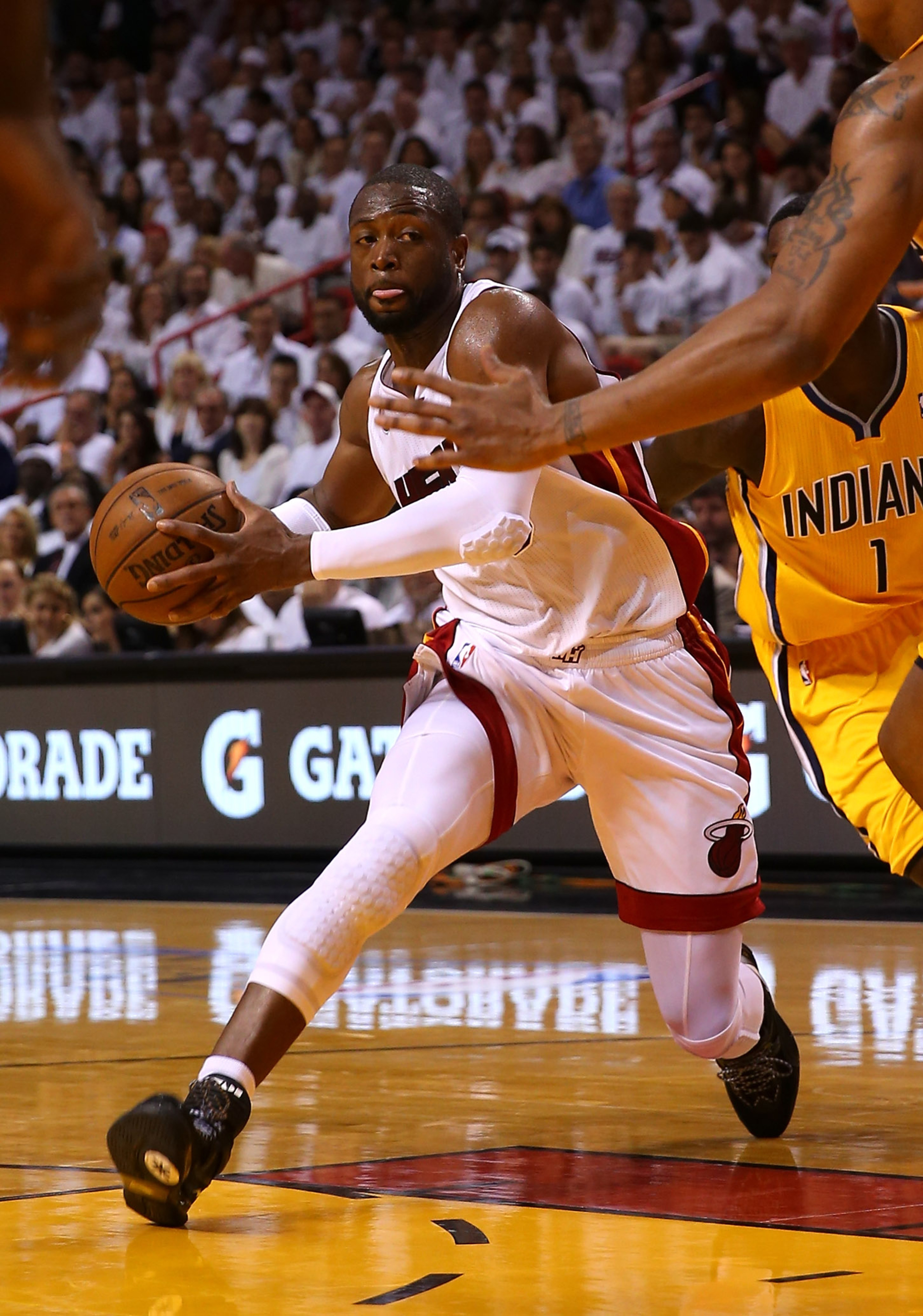 Heat vs. Pacers: Can Miami survive its Dwyane Wade problem?