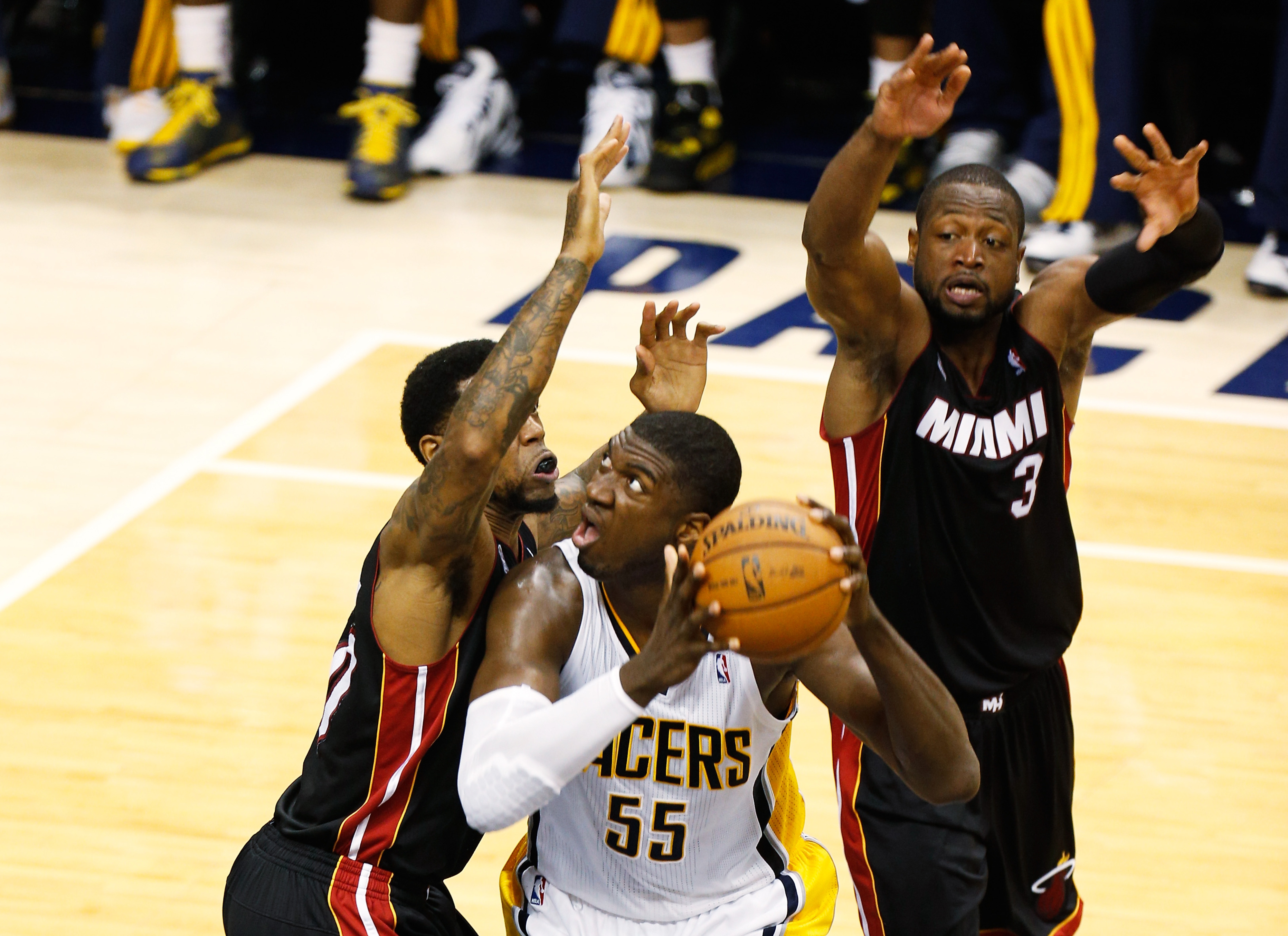 2013 NBA Playoffs: Pacers vs. Heat recap in GIFs