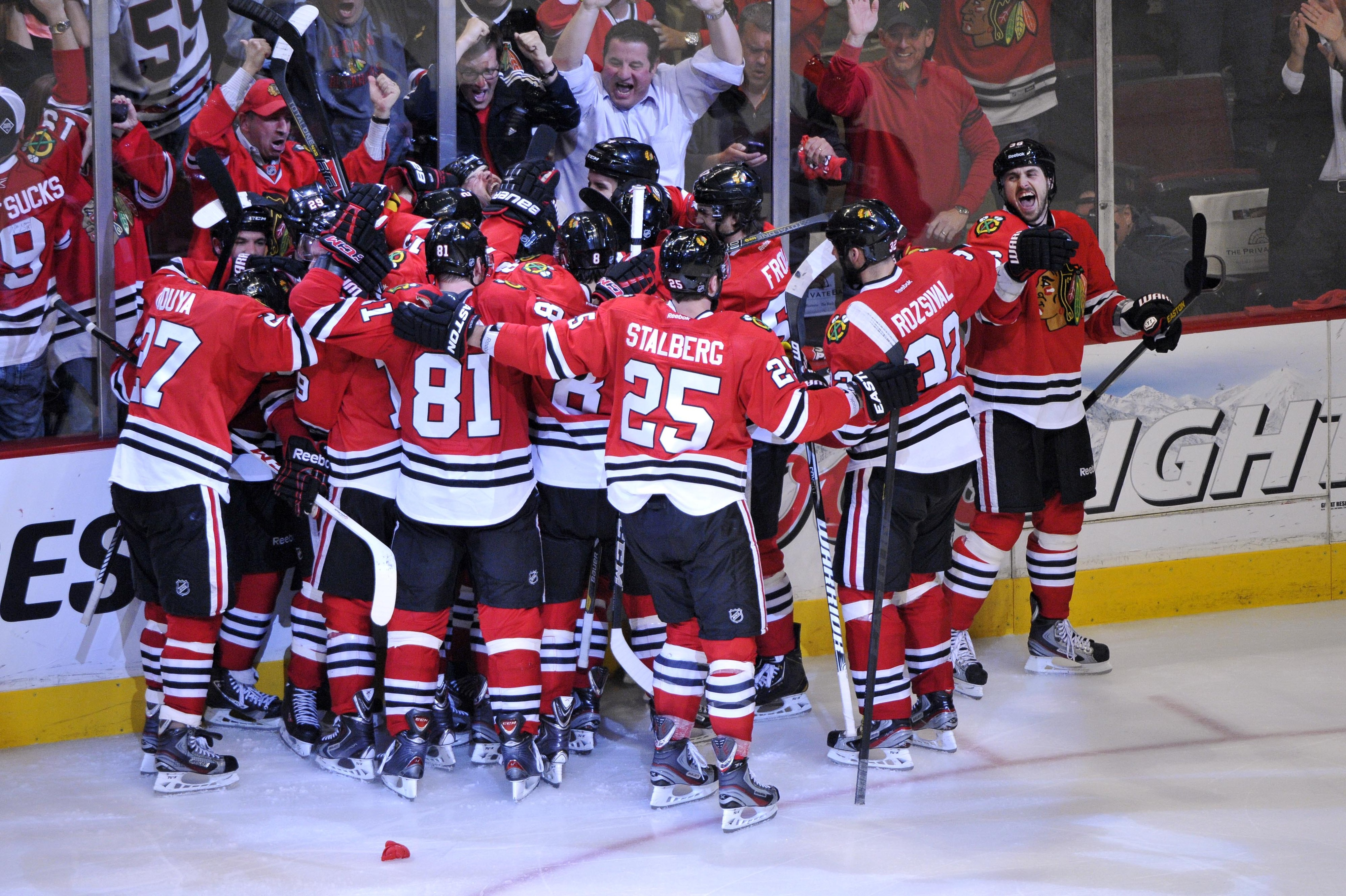 Red Wings-Blackhawks Game 7 ends excellent second round for NBC