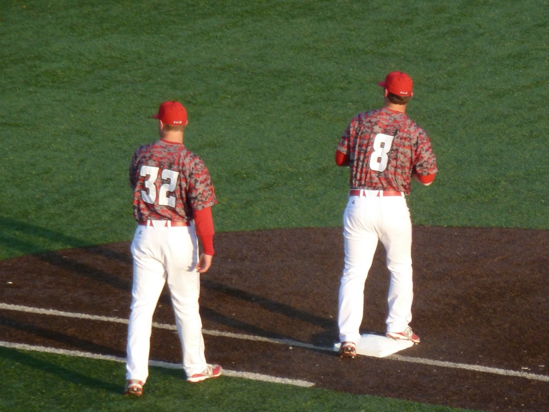 """No word yet on if the Cajuns brought their """"Pepper Camo"""" to The Box this weekend"""