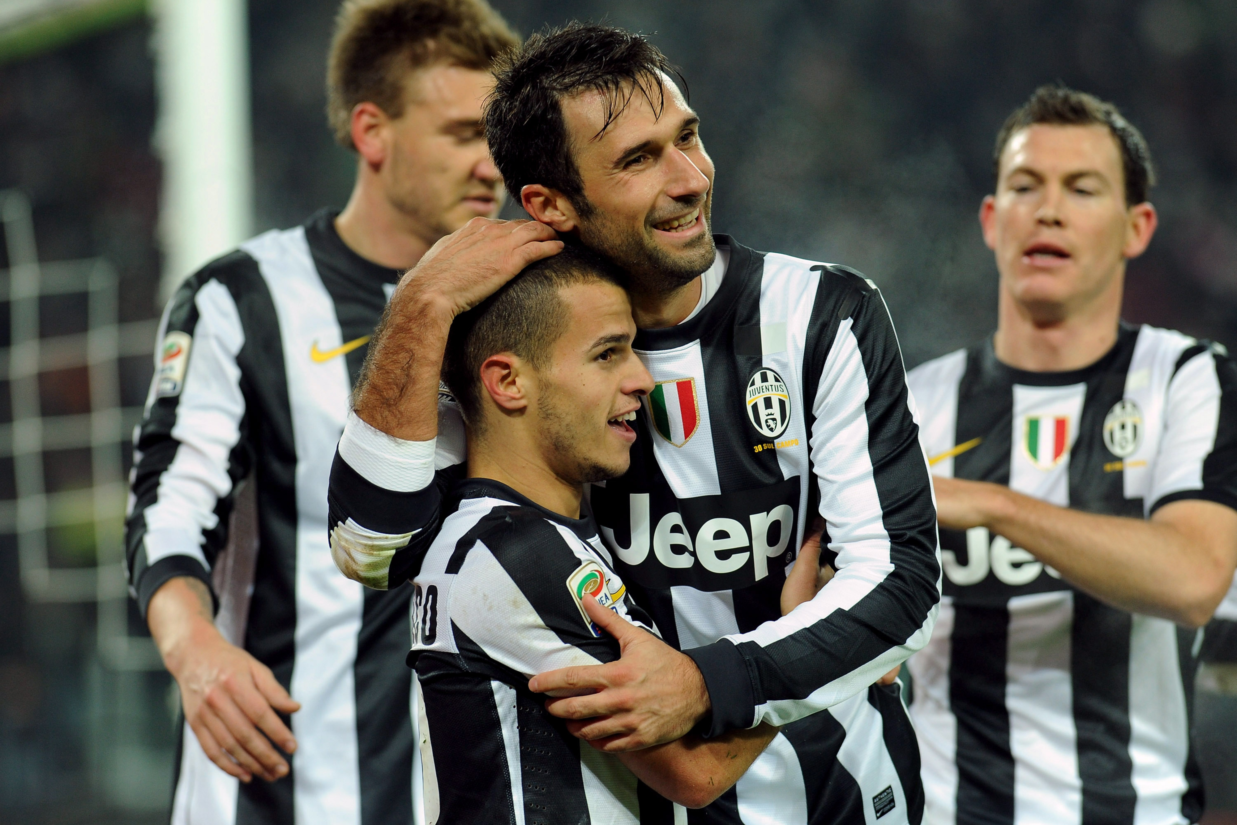 I managed to get Vucinic, Gio, and Bendtner in one picture. You're welcome.