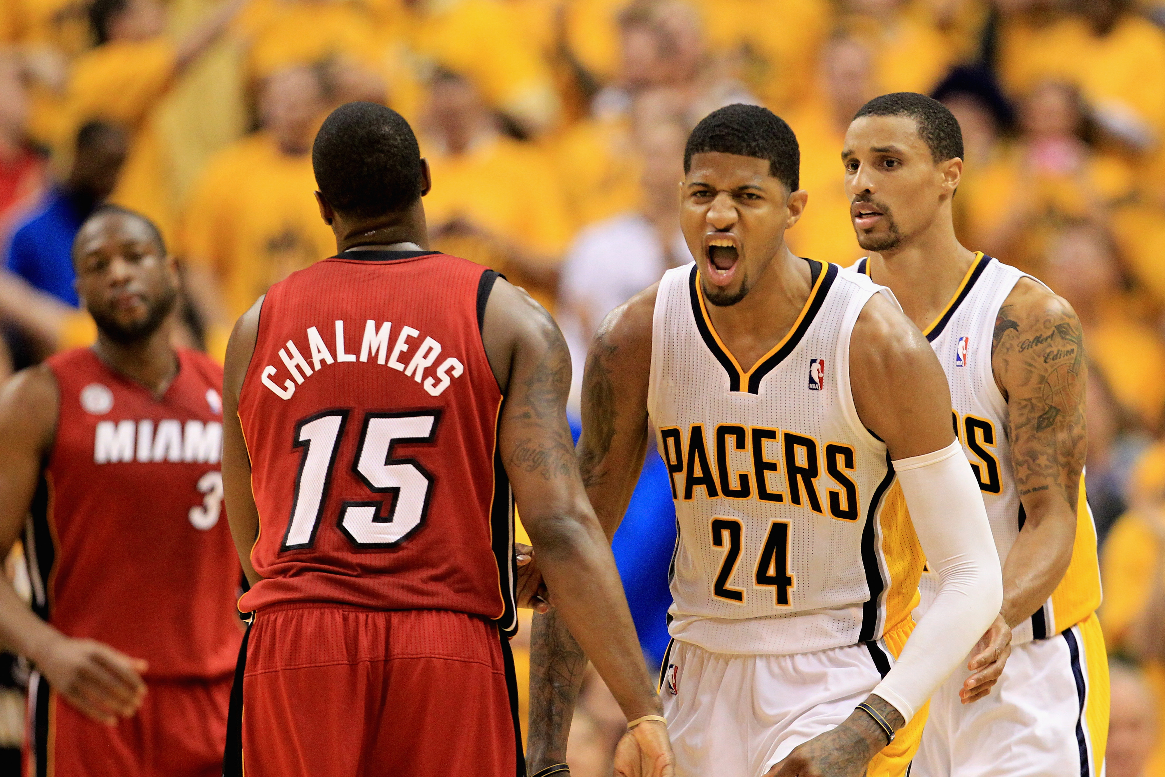 NBA Playoffs 2013, Heat vs. Pacers Game 6: Indiana forces Game 7 with 91-77 victory