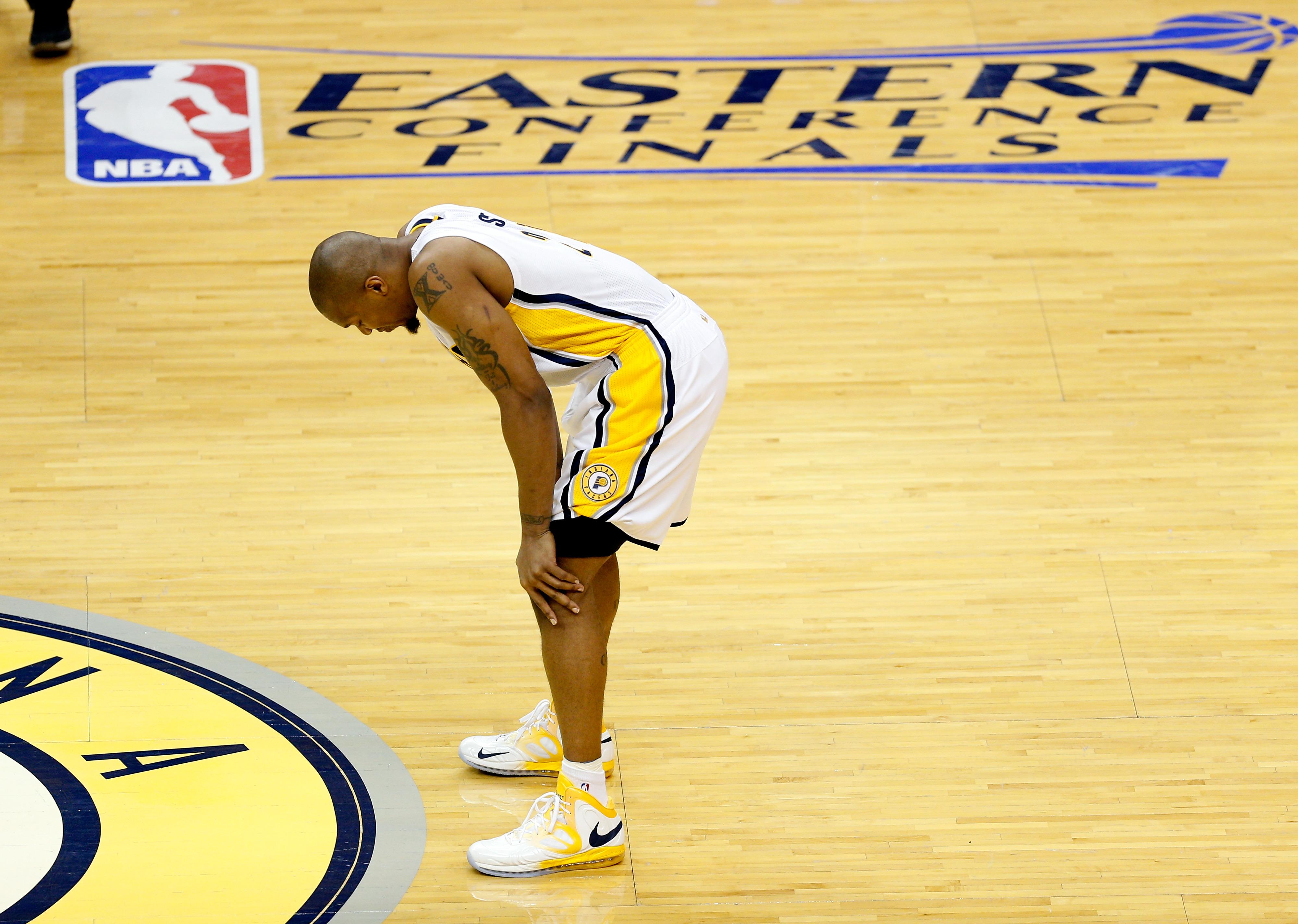 NBA Playoffs 2013, Heat vs. Pacers: David West comes through despite illness
