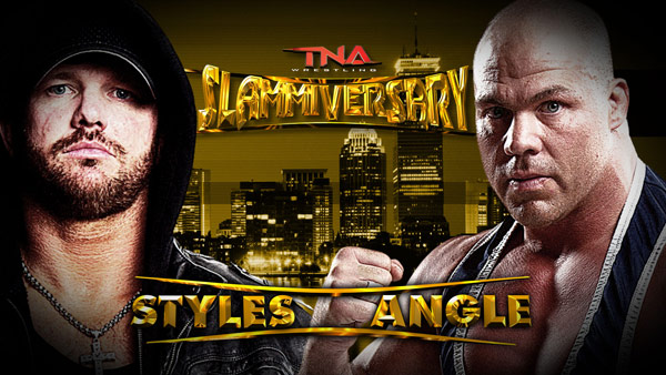 AJ Styles vs. Kurt Angle will probably be the best match of the night