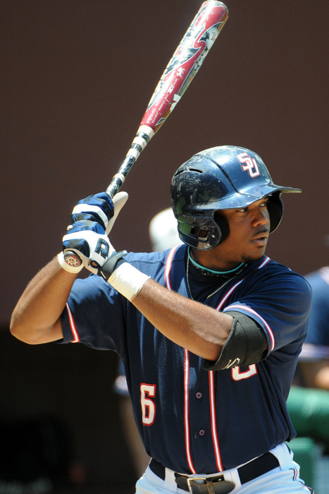 Samford's Phillip Ervin is a potential Rays target