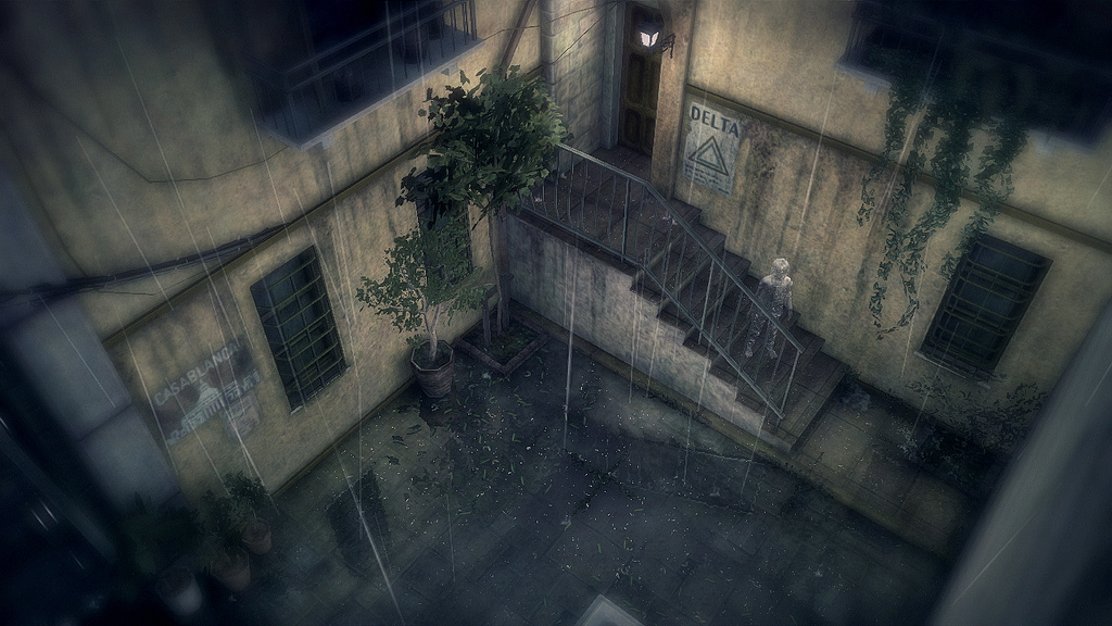 Rain built around the concept of playing an invisible character