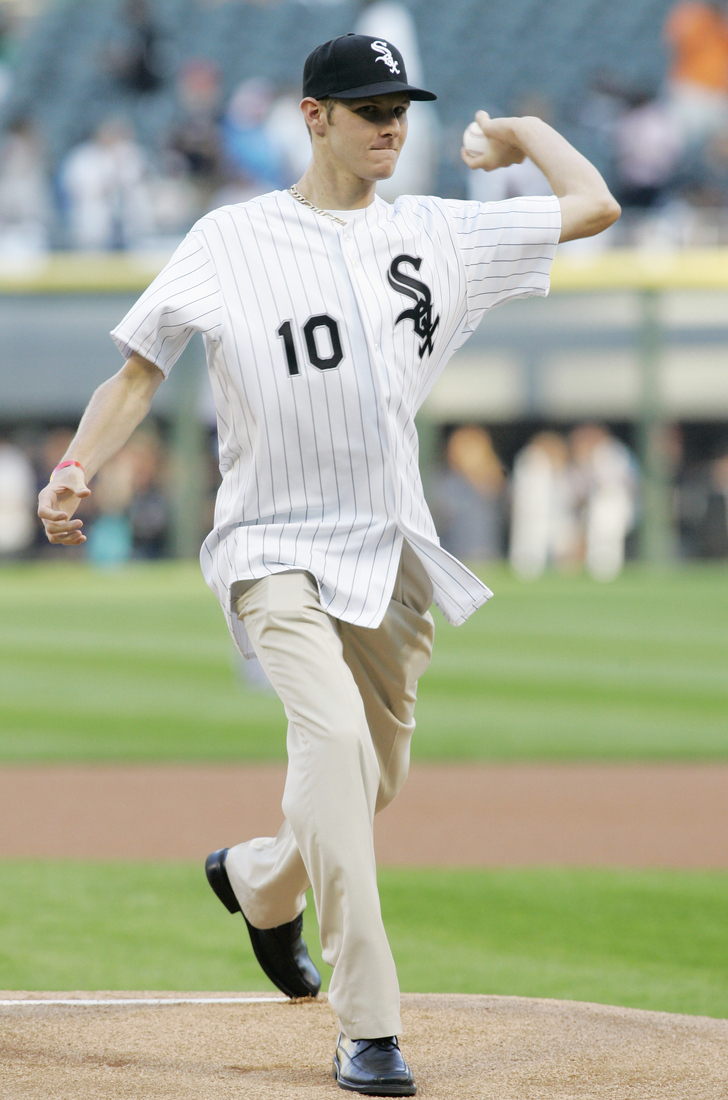 Chris Sale DID gain weight.